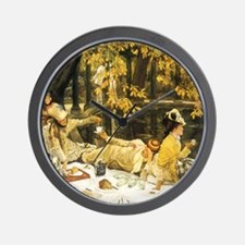 Holyday (The Picnic) by Tissot Wall Clock