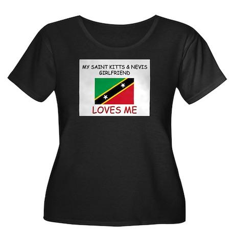 My Saint Kitts & Nevis Girlfriend Loves Me Women's