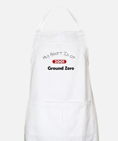 My Heart Is at Ground Zero BBQ Apron