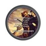Tragedy of Hamlet Wall Clock