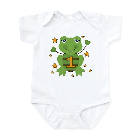 Age 1 Frog Infant Bodysuit