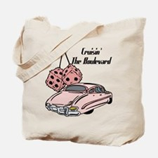 Cruisin The Boulevard Tote Bag