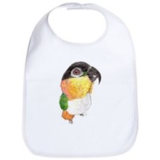 Black-headed Caique parrot Bib