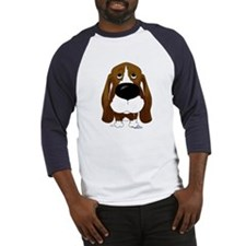 Big Nose/Butt Basset Baseball Jersey