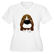 Big Nose/Butt Basset T-Shirt