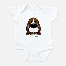 Big Nose Basset Infant Bodysuit