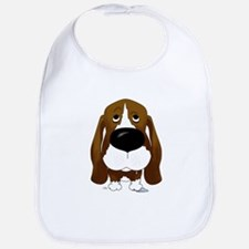 Big Nose Basset Bib