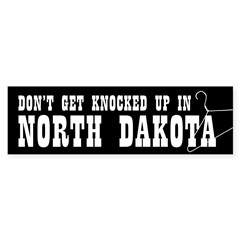 North Dakota Pro-Choice Bumper Sticker (10 pk)
