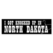 North Dakota Pro-Choice Bumper Bumper Sticker