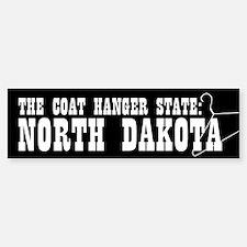 North Dakota Pro-Choice Bumper Bumper Bumper Sticker