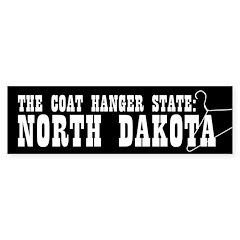 North Dakota Pro-Choice Bumper Bumper Sticker