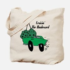 Cruising The Boulevard Tote Bag