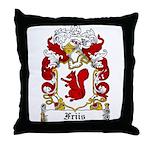 Friis Coat of Arms Throw Pillow