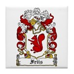 Friis Coat of Arms Tile Coaster