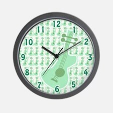 Groovy Guitar Time Wall Clock