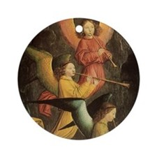 A Choir of Angels by Marmion Ornament (Round)