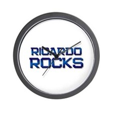 ricardo rocks Wall Clock