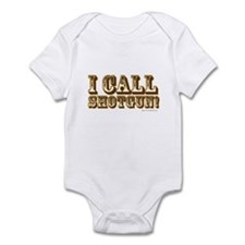 I Call Shotgun Infant Bodysuit