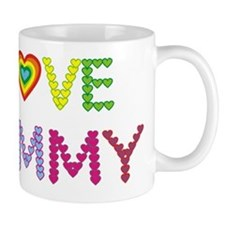 I LOVE MOMMY Mug