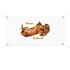 Bellyrub Doxie Banner