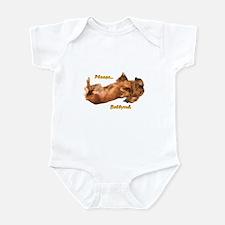 Bellyrub Doxie Infant Bodysuit