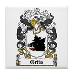 Griis Coat of Arms Tile Coaster