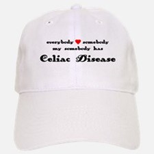 everybody loves somebody Celi Baseball Baseball Cap