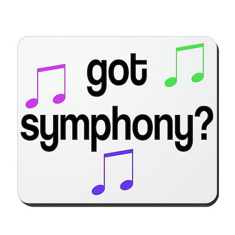 Got Symphony Mousepad
