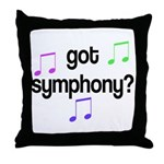 Got Symphony Throw Pillow
