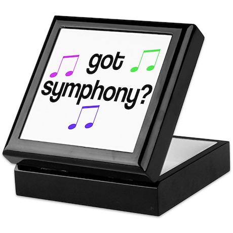 Got Symphony Keepsake Box