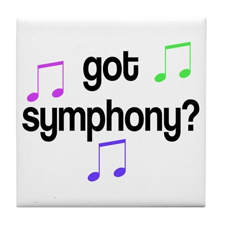 Got Symphony Tile Coaster