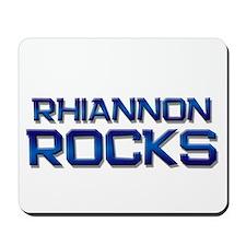 rhiannon rocks Mousepad