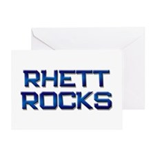 rhett rocks Greeting Card