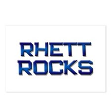 rhett rocks Postcards (Package of 8)