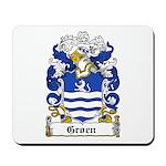 Groen Coat of Arms Mousepad