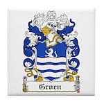 Groen Coat of Arms Tile Coaster