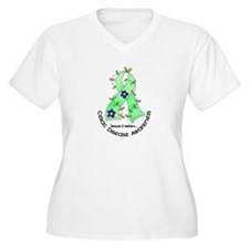 Flower Ribbon CELIAC DISEASE T-Shirt