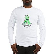 Flower Ribbon CELIAC DISEASE Long Sleeve T-Shirt