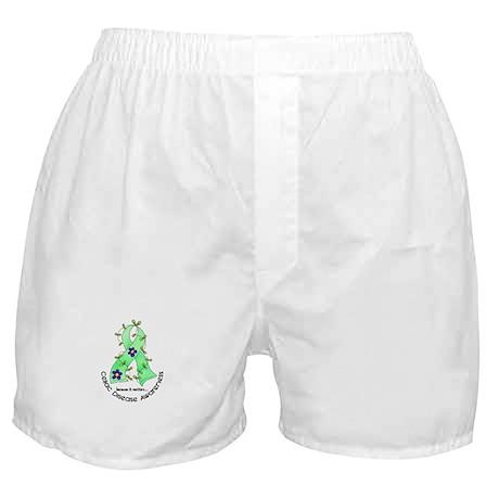 Flower Ribbon CELIAC DISEASE Boxer Shorts