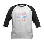 Crop til you drop Kids Baseball Jersey