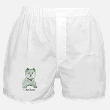"""The Boss"" Westhighland White Terrier Boxer Shorts"