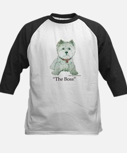 """""""The Boss"""" Westhighland White Terrier Tee"""