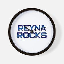 reyna rocks Wall Clock