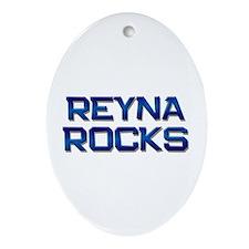 reyna rocks Oval Ornament