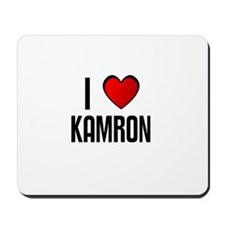 I LOVE KAMRON Mousepad