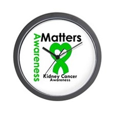 Kidney Cancer Matters Wall Clock