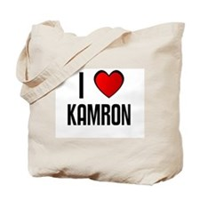 I LOVE KAMRON Tote Bag