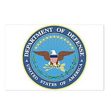 Dept. of Defense Postcards (Package of 8)