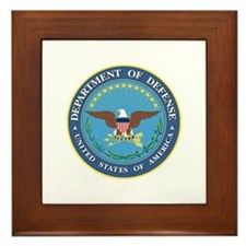 Dept. of Defense Framed Tile