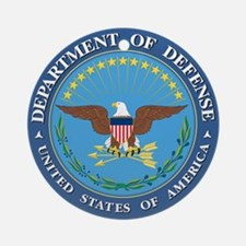 Dept. of Defense Ornament (Round)